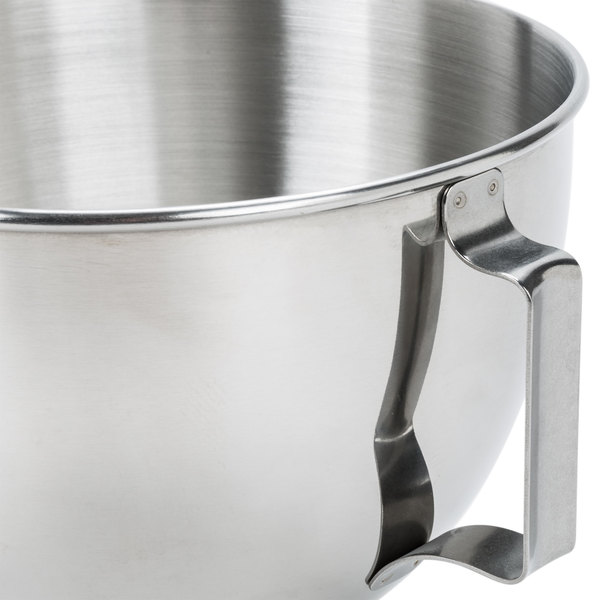 KitchenAid K45SBWH Stainless Steel 4.5 Qt. Mixing Bowl with Handle ...