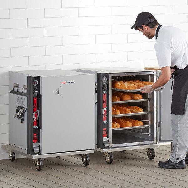 "Metro TC90B Half Size Heated Holding Cabinet - Holds Nine 18"" x 26"" Pans"