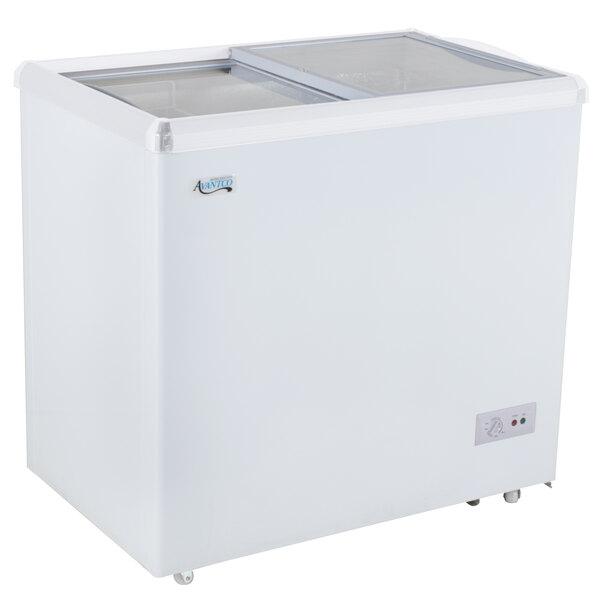 Avantco ICFF7 Flat Lid Display Freezer - 6.4 cu. ft.