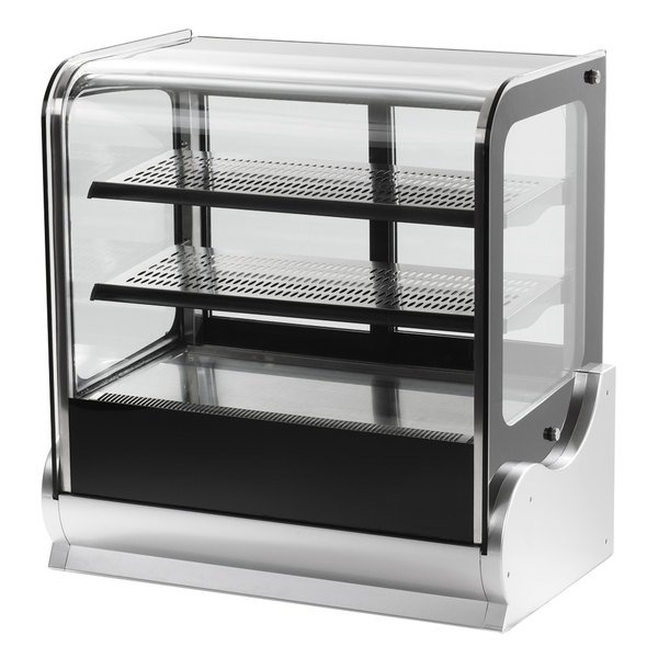 Vollrath 40863 48 Quot Cubed Glass Refrigerated Countertop