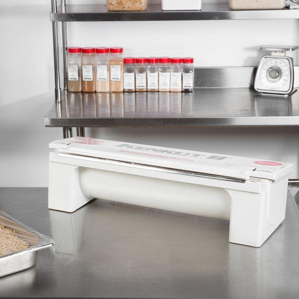 """Tablecraft KK6 KenKut 24"""" Film and Foil Dispenser / Cutter"""