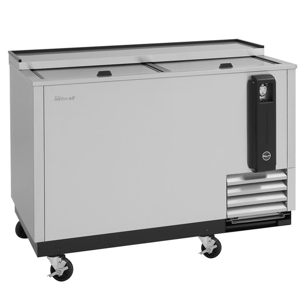 "Turbo Air TBC-50SD-N6 50"" Super Deluxe Stainless Steel Bottle Cooler"