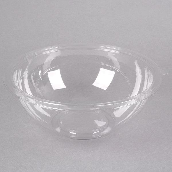 Fineline 5160-CL Super Bowl 160 oz. Clear PET Plastic Bowl - 25/Case