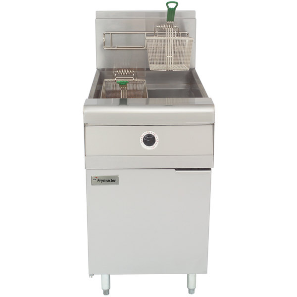 Frymaster MJ1CF Natural Gas Floor Fryer 60-80 lb.