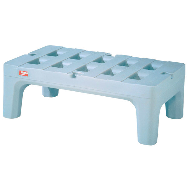 """Metro HP2236PDMB 36"""" x 22"""" x 12"""" Bow Tie Dunnage Rack with Microban Protection - 1500 lb. Capacity"""