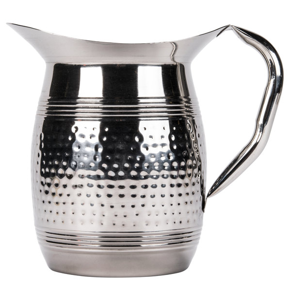 Water Pitcher Hammered Stainless Steel Image Preview Main Picture