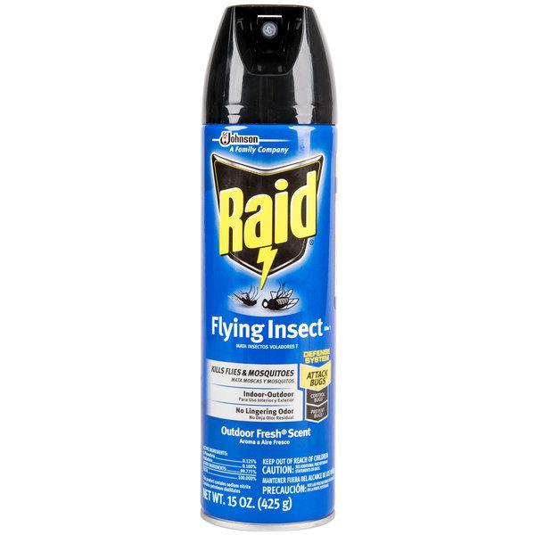 SC Johnson 617717 Raid® 15 oz. Aerosol Flying Insect Killer - 12/Case