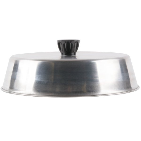 "American Metalcraft BA840S 8 3/4"" Round Stainless Steel Basting Cover"
