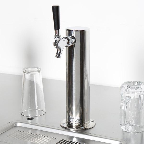 "Beverage-Air 406-053A Single 3"" Diameter Tap Tower Main Image 7"
