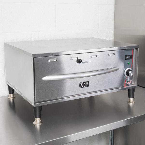 APW Wyott HDDSi-1 Slimline Single Drawer Warmer - 120V