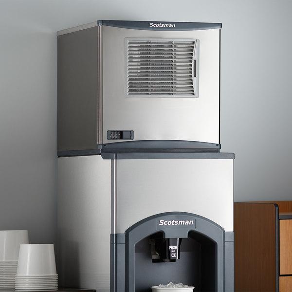 "Scotsman C0322MA-1 Prodigy Plus Series 22"" Air Cooled Medium Cube Ice Machine - 356 lb. Main Image 5"