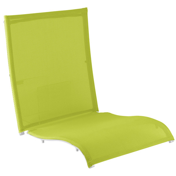 Grosfillex US532152 Fern Green Replacement Sling for Belize Midback Folding Resin Armchairs