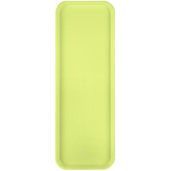 "Carlisle 269FG008 Customizable Avocado 9"" x 26"" Glasteel Display / Bakery Fiberglass Tray - 12/Case"