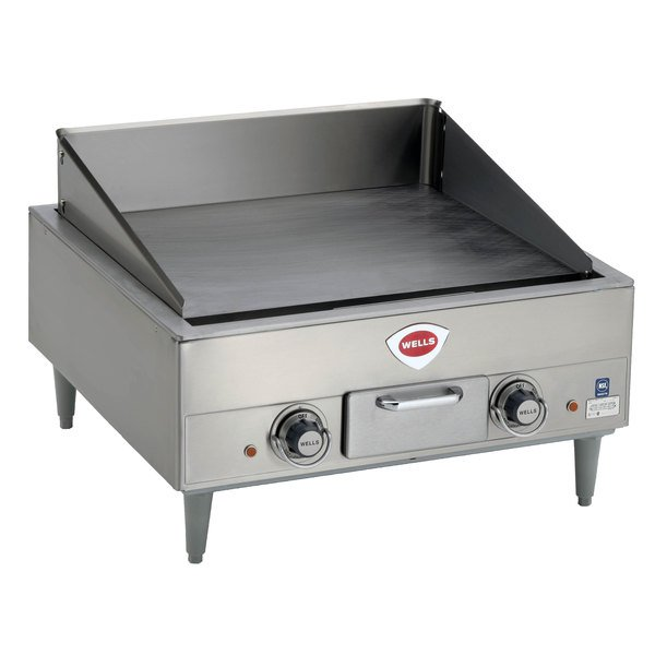 wells g13 25 countertop electric griddle 400v