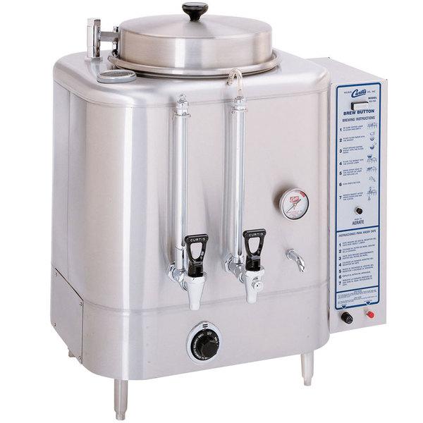 Curtis RU-150-35 Liquid Propane Automatic Single 3 Gallon Coffee Urn - 42,000 BTU