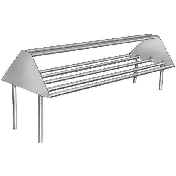 Preferred Advance Tabco DTA-79 Double-Sided Slant Tubular Rack Sorting Shelf TY41