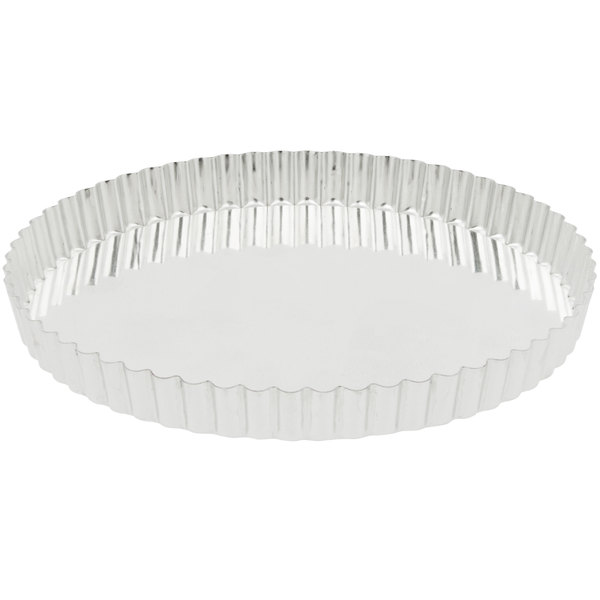 Matfer Bourgeat 341775 Deep Tart / Quiche Pan with Removable Bottom 9 1/2 inch