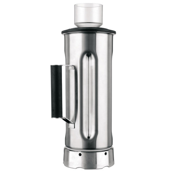 Hamilton Beach 6126-400-CE 64 oz. Stainless Steel Container for HBF400-CE and HBF500S-CE Food Blenders (International Use Only) Main Image 1
