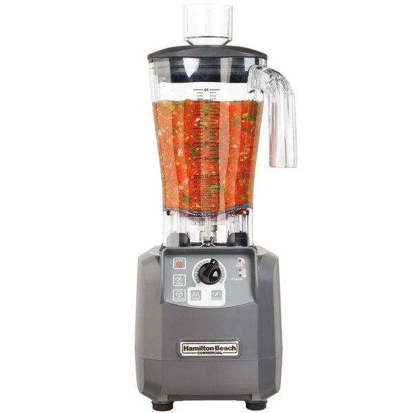 Hamilton Beach HBF600-CE Tournant 3 hp 64 oz. High Performance Food Blender - 230V (International Use Only)