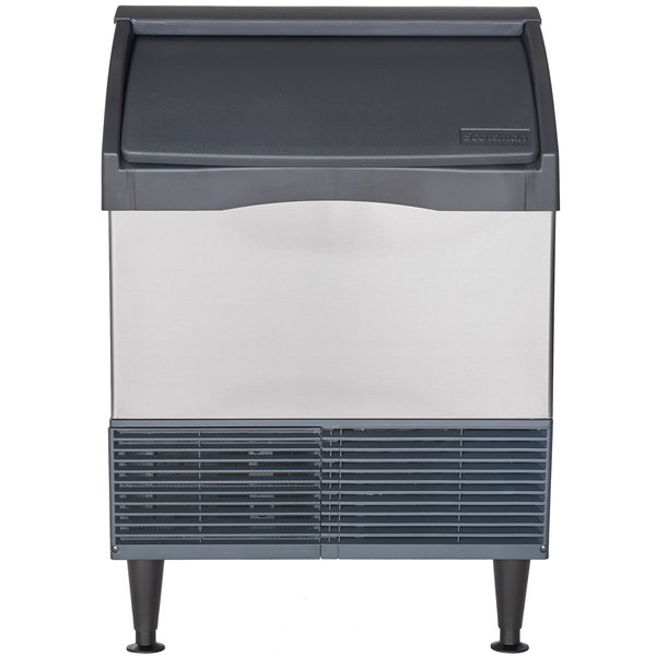 Scotsman CU1526SA-1 Prodigy Series 26 inch Air Cooled Undercounter Small Cube Ice Machine - 150 lb.