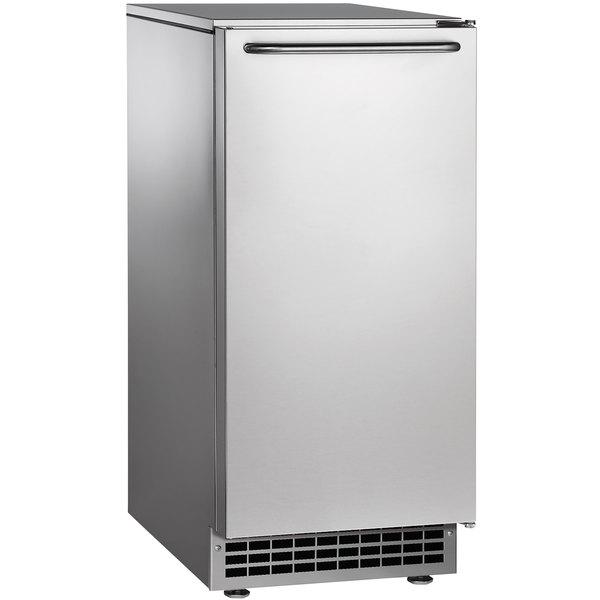 """Scotsman CU50GA-1 14 7/8"""" Air Cooled Undercounter Full Size Cube Ice Machine - 65 lb."""