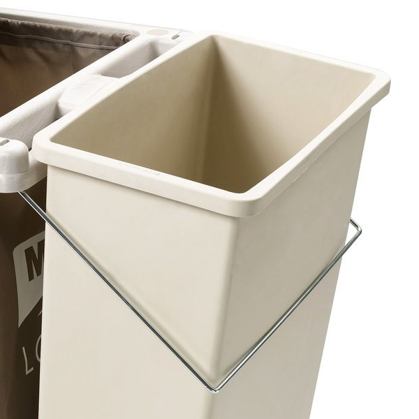 Metro LXHK4-WCH Trash Can Holder for Lodgix Tall Height Housekeeping Carts