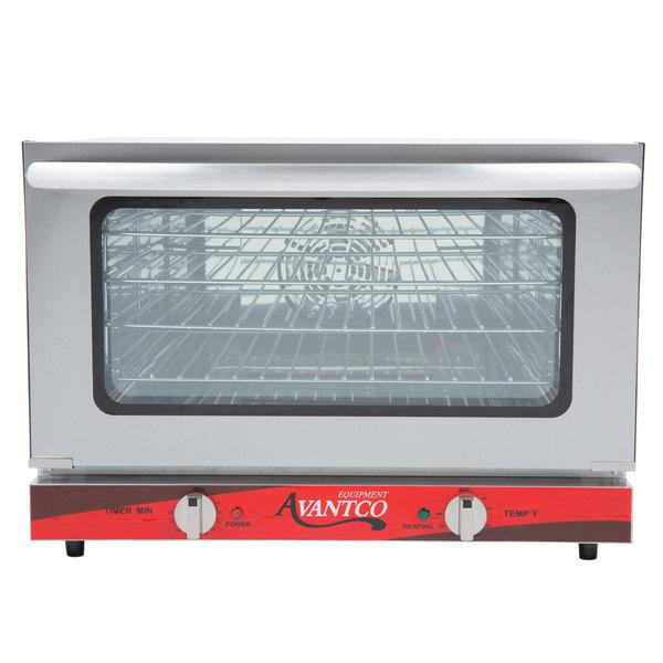 avantco co 16 half size countertop convection oven, 1 5 cu ft Countertop Convection Steam Oven image preview