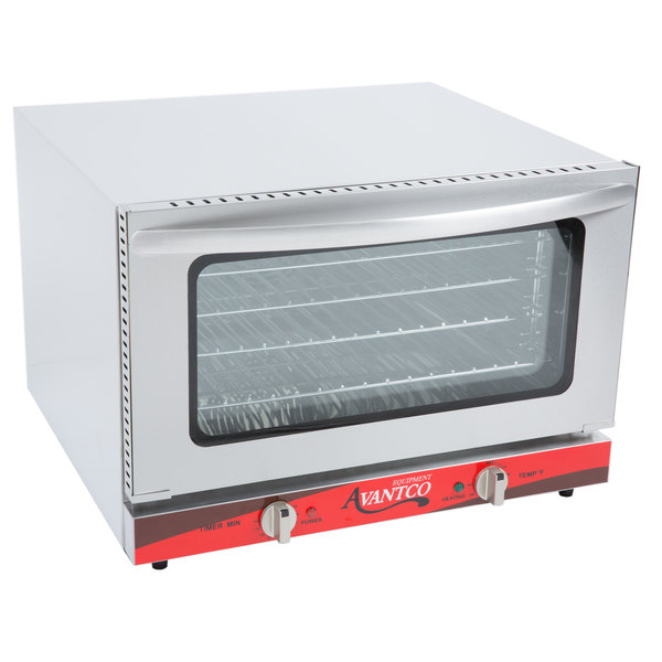 1//2 Size Commercial Restaurant Kitchen Countertop Electric Convection Oven