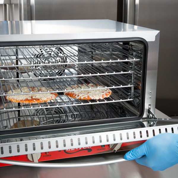 Avantco co 16 half size countertop convection oven 1 5 cu - Cool touch exterior convection toaster oven ...