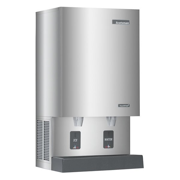 Scotsman MDT5N40W-1 Water Cooled Nugget Ice Machine and Dispenser - 525 lb.