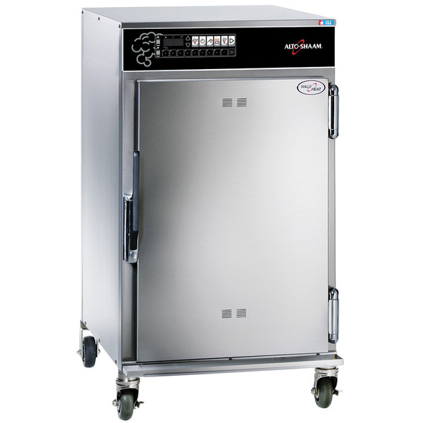 Alto-Shaam 1000-SK/III Half Height Cook and Hold Smoker Oven with Deluxe Controls - 208/240V, 3300/4400W Main Image 1