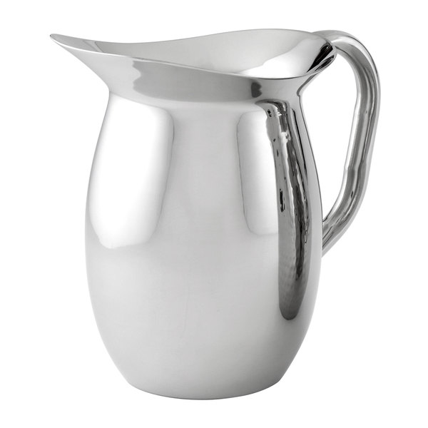 American Metalcraft DWP64 2 Qt. Mirror Finish Double Walled Bell Pitcher