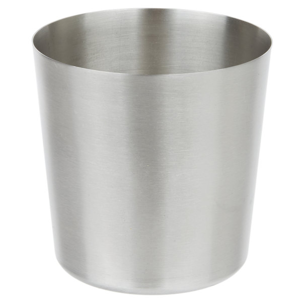 Stainless Steel French Fry Cup - 3 1/2 inch