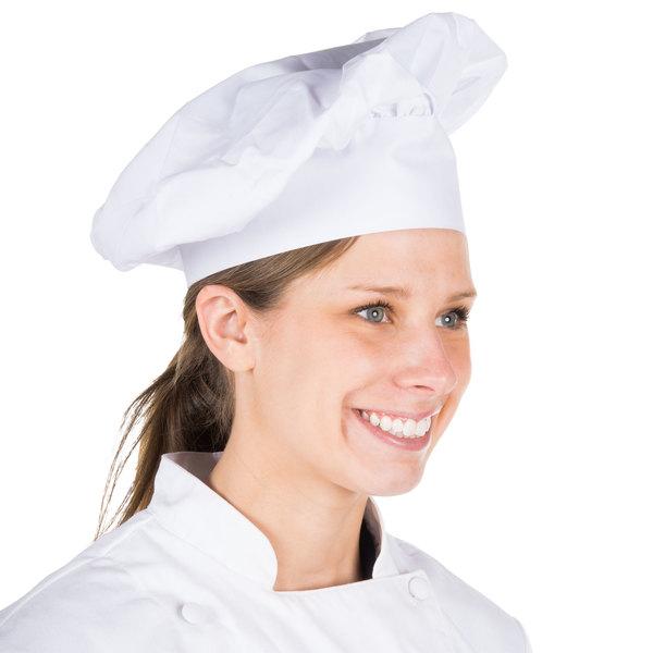 "Choice 13"" White Chef Hat"