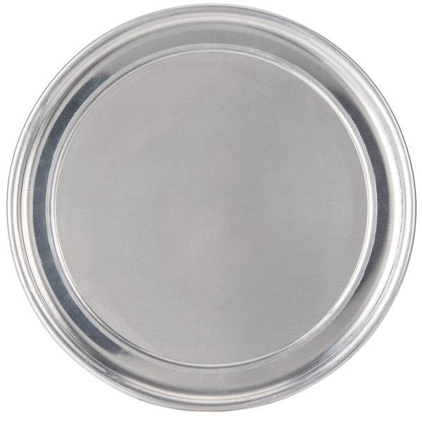 "American Metalcraft HATP9 9"" Heavy Weight Aluminum Wide Rim Pizza Pan"