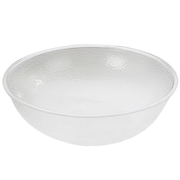"Cal-Mil 401-12-34 12 1/4"" Clear Acrylic Pebble Salad Bowl"