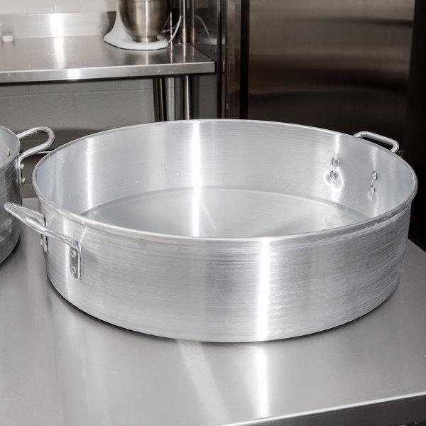 Town 34622 40 Qt. Aluminum Steamer Water Pan