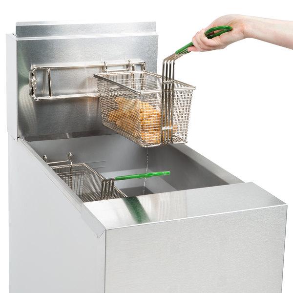 Frymaster GF40 Liquid Propane Floor Fryer 50 lb
