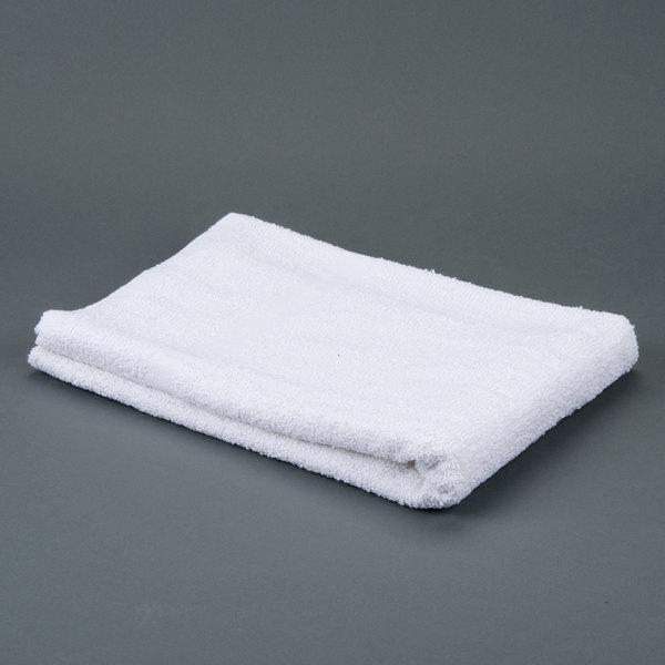 """Oxford Bronze 24"""" x 50"""" 100% Open End Cotton Bath Towel 10 lb. - 120/Case Main Image 1"""
