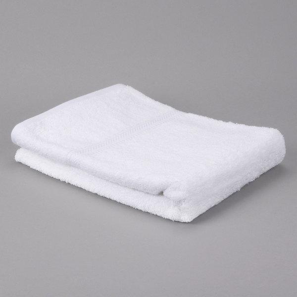 "Case of 48 Hotel Bath Towel - Gold 27"" x 50"" 86/14 Cotton / Poly 14 lb."