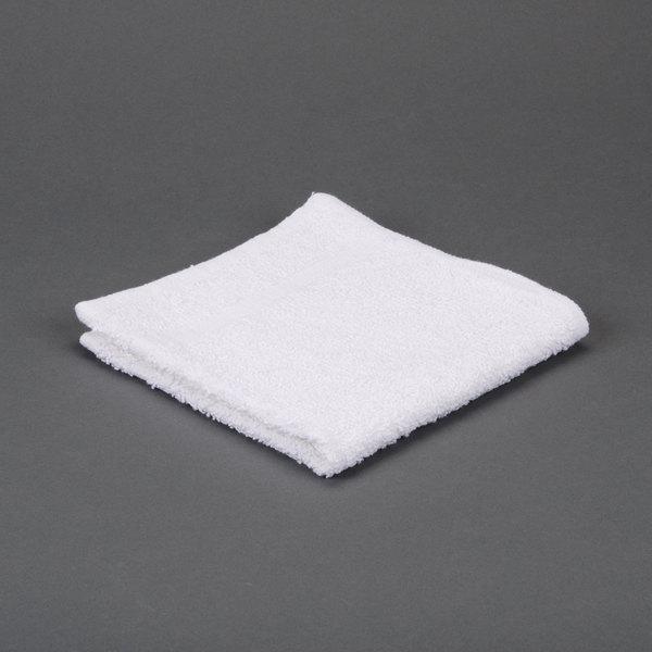 "Case of 600 Hotel Wash Cloth - Bronze 12"" x 12"" 100% Open End Cotton 1 lb."