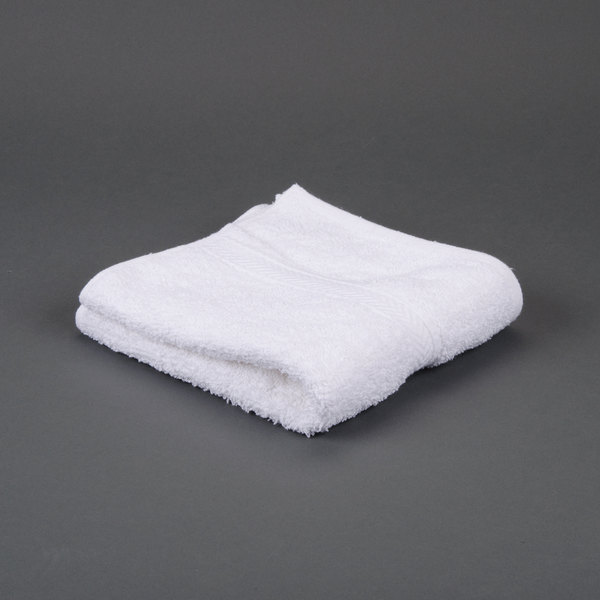 Hotel Hand Towel - Gold 16 inch x 30 inch 86/14 Cotton-Polyester Blend 4 lb.
