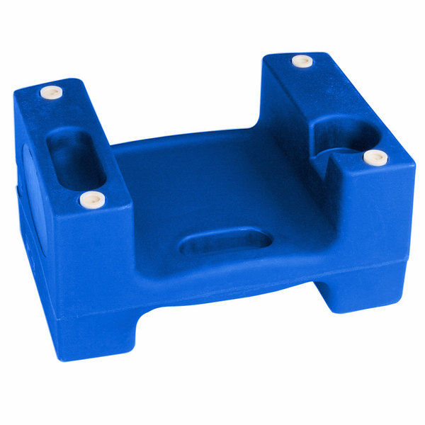 Koala Kare Booster Buddies KB116-04 Blue Plastic Booster Seat - Dual Height - 5/Pack