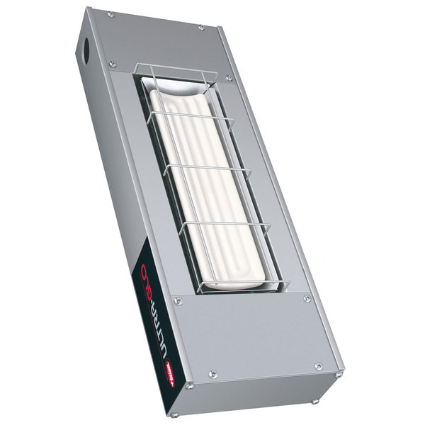 "Hatco UGA-60 Ultra-Glo 60"" Ceramic Infrared Strip Warmer with Remote Controls - 240V, 1960W Main Image 1"