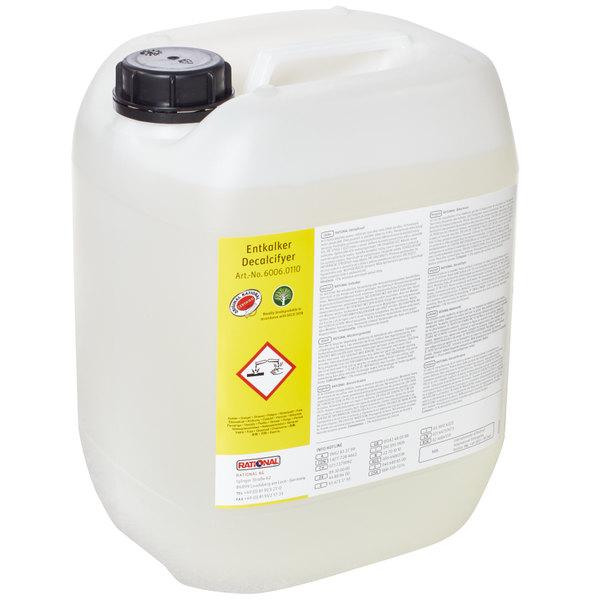 Rational 6006.0110US 1 Gallon Descaling Agent - 4/Case Main Image 1