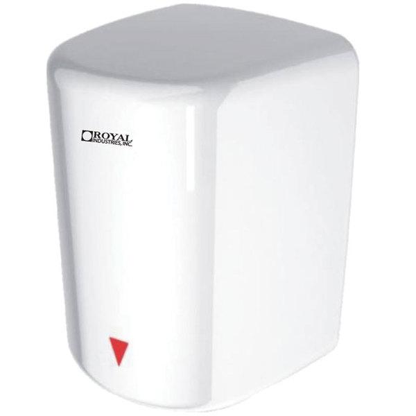 Royal JA01 White High Speed Automatic Hand Dryer - 1600W