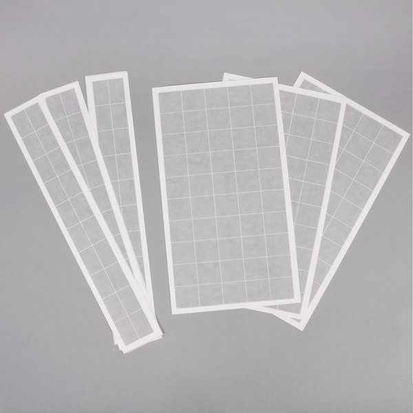 """Curtron RGB200 3"""" x 19"""" and 9"""" x 16"""" Insect Trap Glue Board Kit - 10/Pack Main Image 1"""