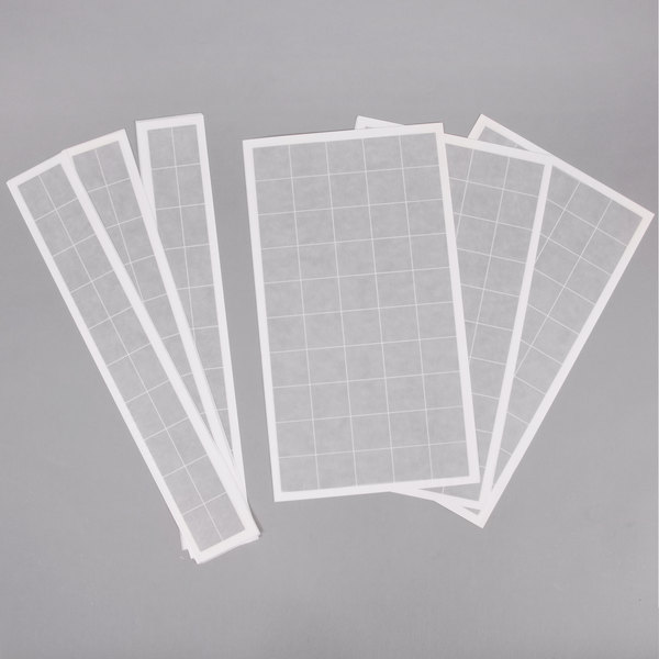 """Curtron RGB200 3"""" x 19"""" and 9"""" x 16"""" Insect Trap Glue Board Kit - 10/Pack"""