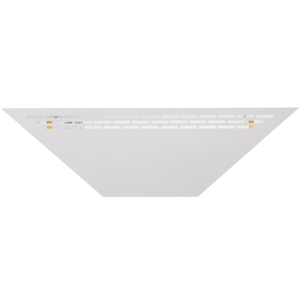 Curtron BL100C White Combination High Intensity UV Flying Insect Control Light and Trap with 10 Glue Boards - 15W