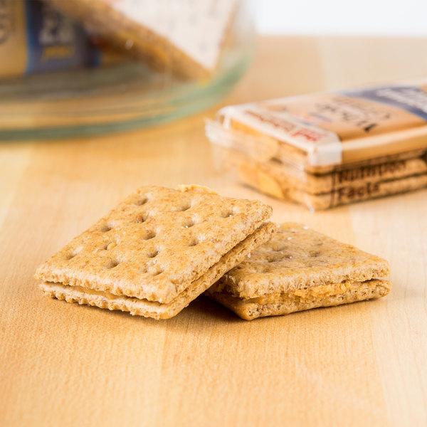 Lance Whole Grain Peanut Butter Sandwich Crackers 8 Count Box - 14/Case